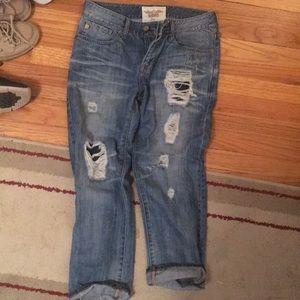 Big Star Jeans - Big Star Joey boyfriend fit capris
